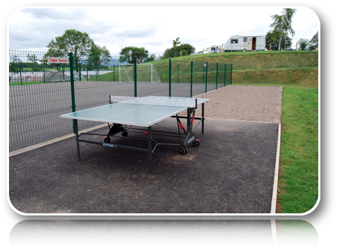 Rushin House Caravan Park - Table Tennis - Boule