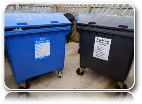 General Waste Paper Bin-Carrick-Dhu-Caravan-Park-Review