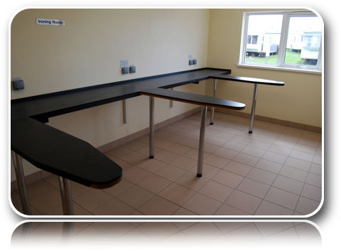 Ironing Room-Carrick-Dhu-Caravan-Park-Review