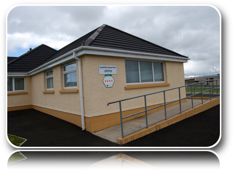 Reception - Office-Carrick-Dhu-Caravan-Park-Review