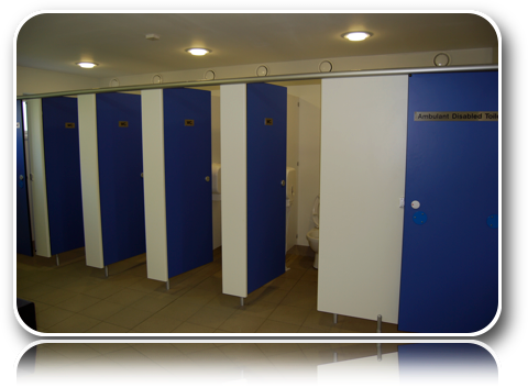 Toilet Block - Toilets-Carrick-Dhu-Caravan-Park-Review