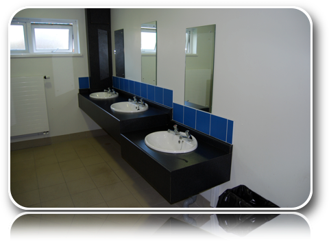 Toilet Block - Extra Sinks-Carrick-Dhu-Caravan-Park-Review