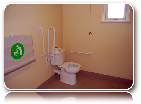 Toilets - Male Disabled Parent Changing 3-Carrick-Dhu-Caravan-Park-Review
