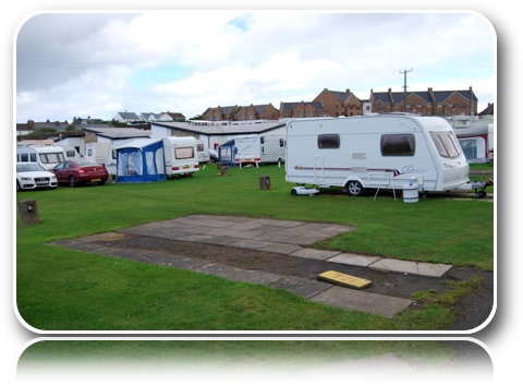 Touring Caravan Empty Site-Carrick-Dhu-Caravan-Park-Review