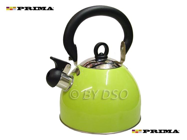 Prima 2.5L Stainless Steel Whistling Kettle - NEW