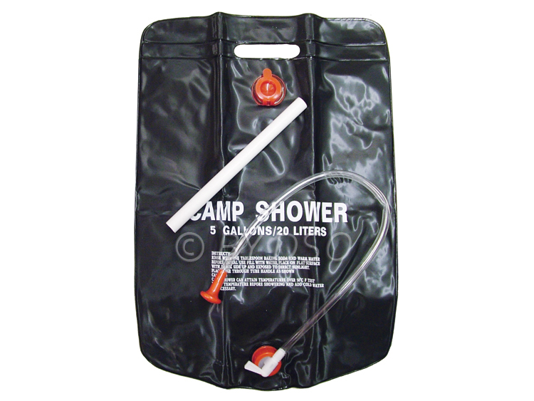 20 Litre 5 Gallon Camping Shower - NEW