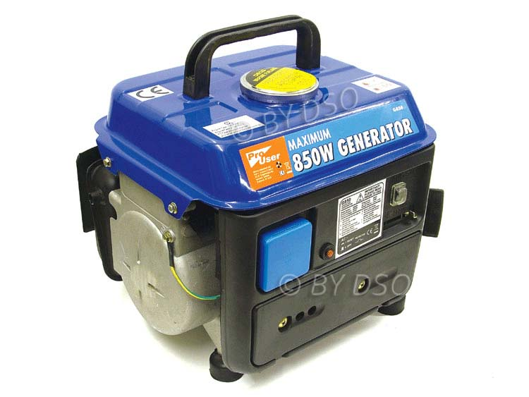 Pro User 2 Stroke Generator with Electronic Ignition and Recoil Start G850 - NEW