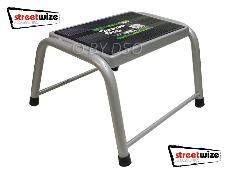 Heavy Duty Single Caravan Step Steel Construction - NEW